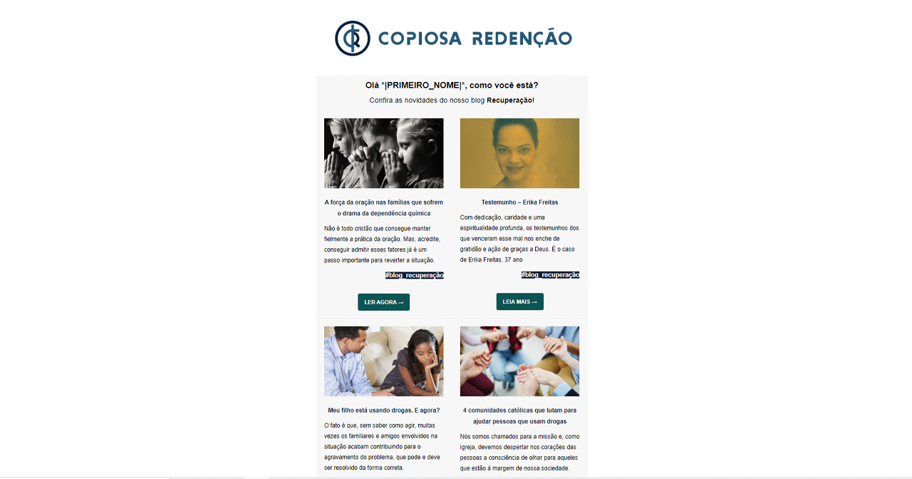 marketing de conteúdo - relacionamento com devotos